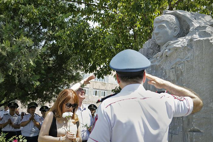 Հունիսի 28-ը հիշարժան օր ոստիկանությունում. Լուսանկարներ. Տեսանյութ