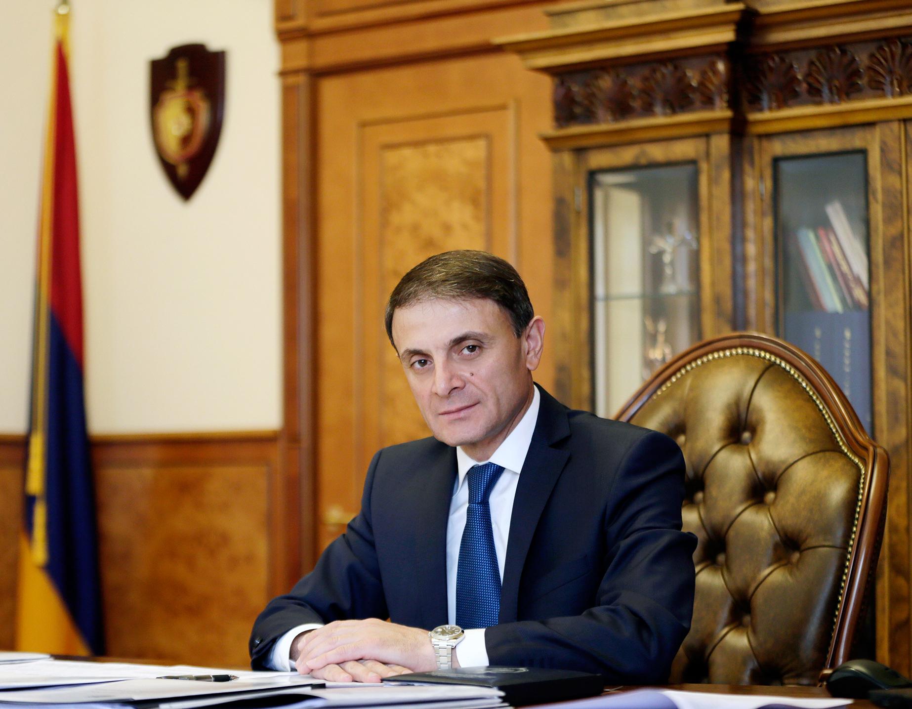 Начальник полиции Республики Армения