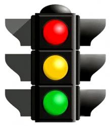 Ճանապարհային երթևեկության կանոնները, Ճանապարհային երթևեկության կարգավորման միջոցները, լուսացույցի և կարգավորողի ազդանշանները (ՀՀ կառավարության 2007 թ. հունիսի 28-ի N 955-Ն որոշում)