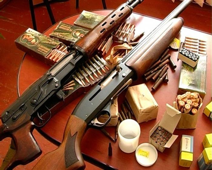 Տավուշում երկու քաղաքացի զենք-զինամթերք է հանձնել