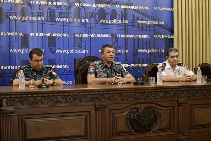 ՀՀ ոստիկանապետը ներկայացրել է Երևան քաղաքի վարչության նորանշանակ պետին. Տեսանյութ