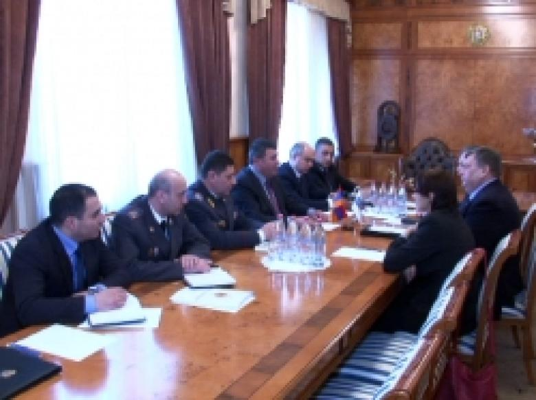 The Head of the OSCE office In Yerevan, Ambassador Andrey Sorokin visited the RA police