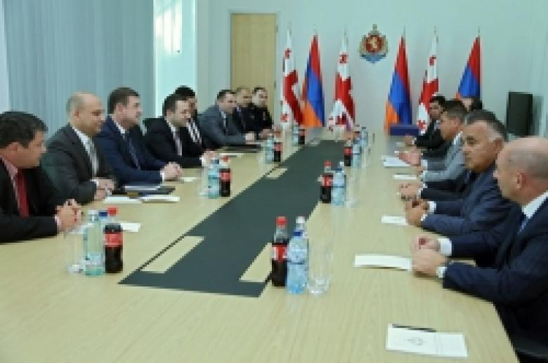 THE DELEGATION OF POLICE OF THE REPUBLIC OF ARMENIA VISITS GEORGIA (VIDEO, PHOTOREPORTAGE)
