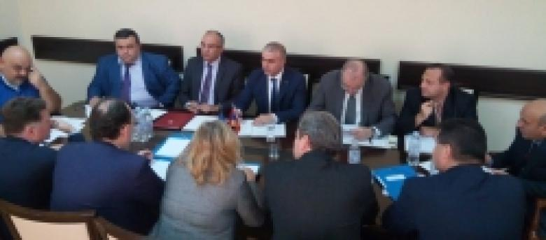 The delegation of the European Committee for the Prevention of Torture and Inhuman or Degrading Treatment or Punishment visits the Armenian Police