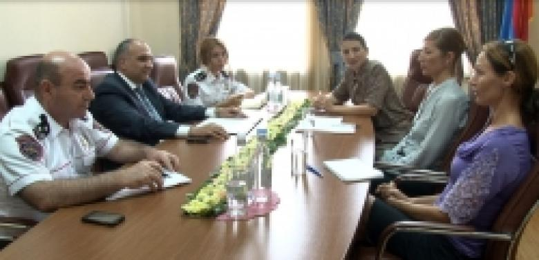 A meeting with DCAF experts titled «Democratic police, equal rights and opportunities» takes place in the Police