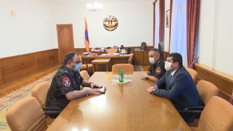 Armenian Police Delegation visits the Republic of Artsakh