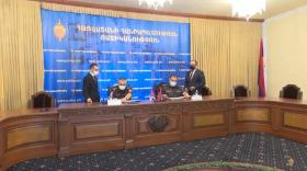 Strong partnership built between the police structures of the two Armenian states