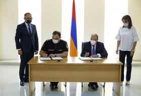 Memorandum of Understanding signed between the Police and the Academy of Justice