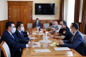 Head of Police received the Ambassador Extraordinary and Plenipotentiary of Kuwait to Armenia