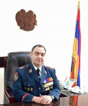 Head of the RA Police sends a congratulatory address on the occasion of the Artsakh Police Day