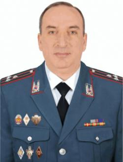 Head of the RA Police Headquarters, Police Colonel Armen Ghukasyan