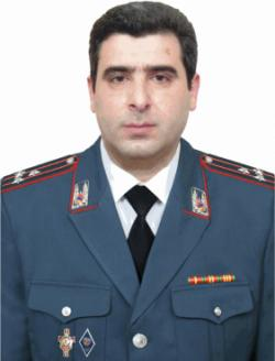 Head of the General Department of Criminal Police,  Police Colonel Artak R. Karapetyan
