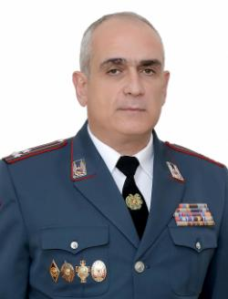 DEPUTY HEAD OF POLICE OF THE REPUBLIC OF ARMENIA POLICE COLONEL TIGRAN YESAYAN