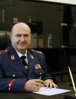 Deputy Head of the RA Police, Police Colonel VARDAN MOVSISYAN