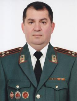 Head of the Department of Internal Security RA Police,  Police Colonel  Ara Mkrtchyan